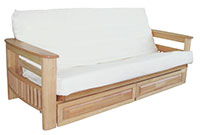 Chester Futon with Drawers