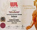Brandlaureate Certificate